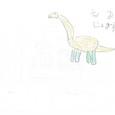 070632s 巻物④ブラキオサウルス